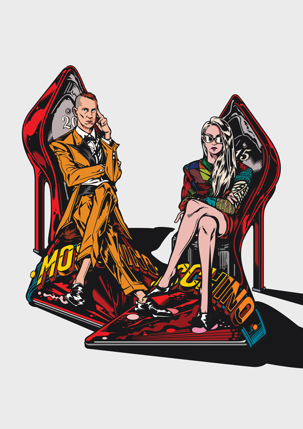 Jeremy Scott & Chaelin the CL